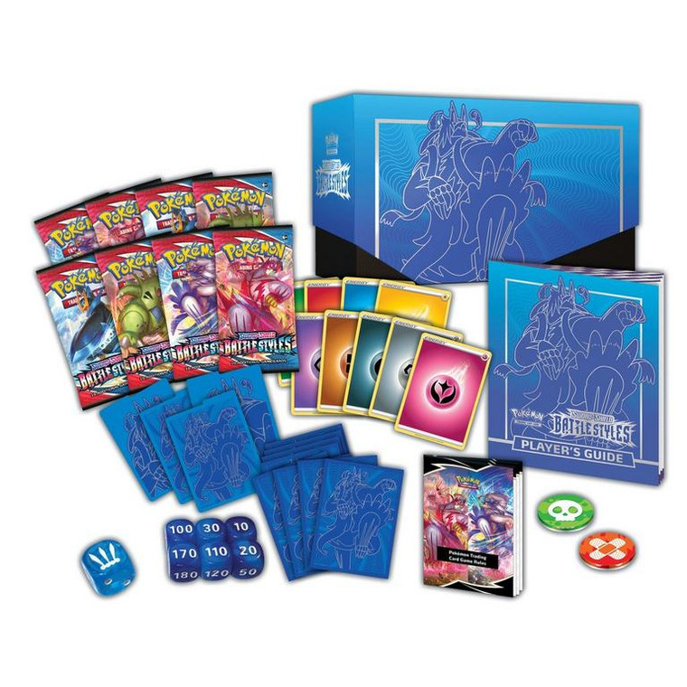 Pokemon TCG Sword and Shield Battle Styles Elite Trainer (BLUE)