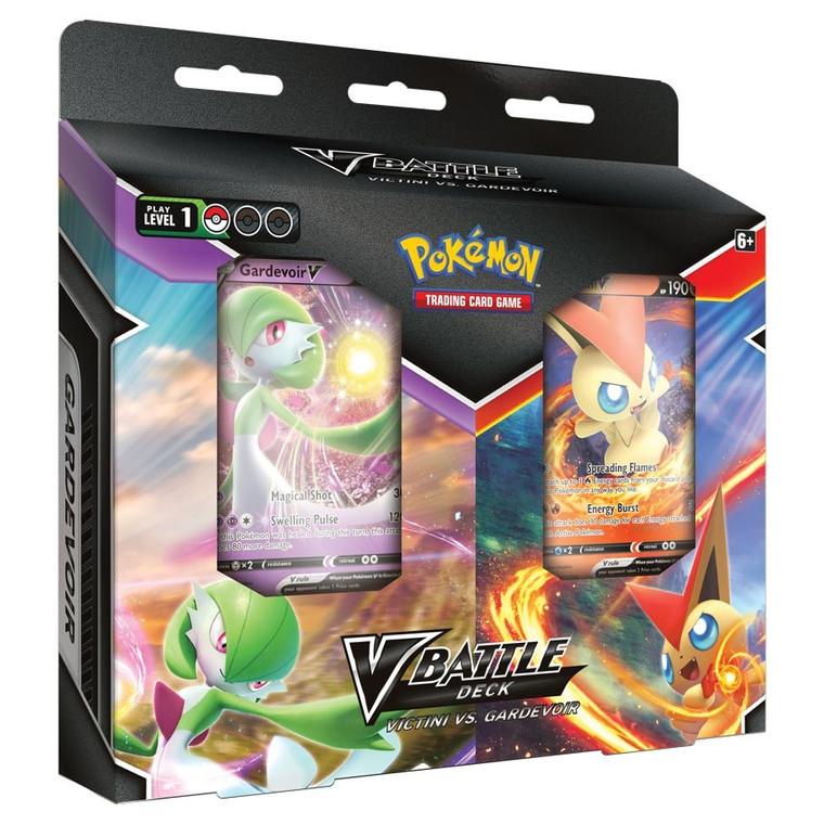 Pokémon TCG: V Battle Deck Bundle Victini vs. Gardevoir