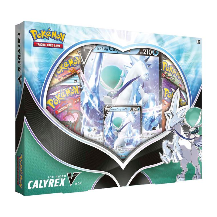 Pokémon TCG: Ice Rider Calyrex V Box