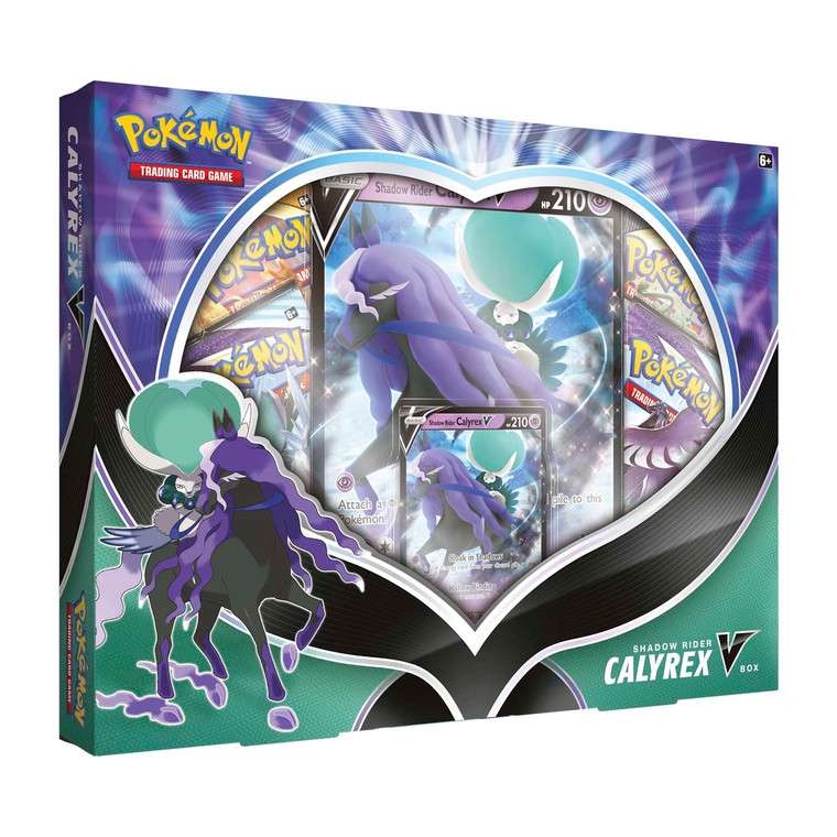 Pokémon TCG: Shadow Rider Calyrex V Box