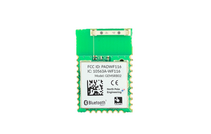 Bluetooth 4.2 and ANT+ OEM module with integrated GEMHCI or GEMSAFE software