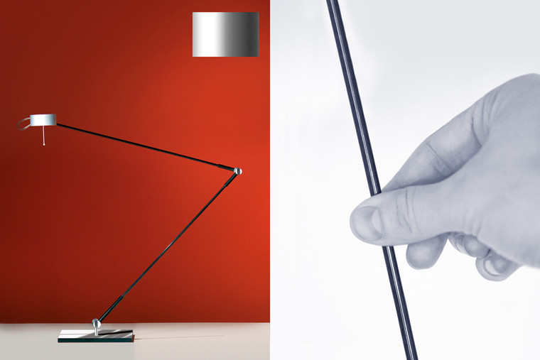 """Absolut Desktop Lamp Matte with """"Touch-O-Matic"""""""