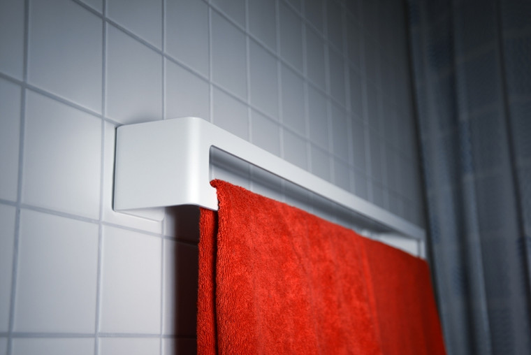 Bath Towel Holder White