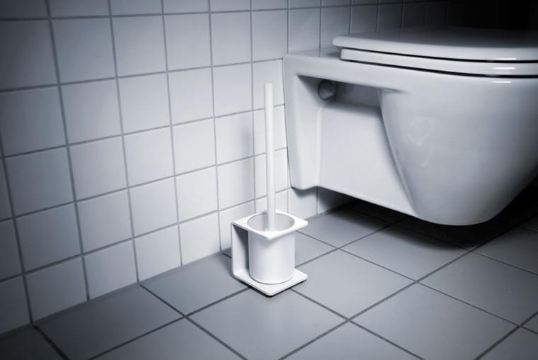 Toilet Brush Holder White