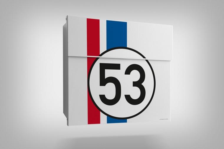 Racing Edition Letterman Mailbox