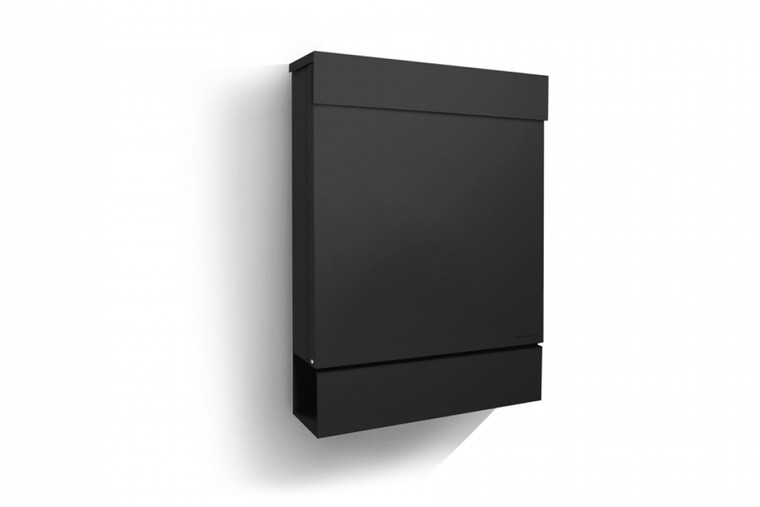 Black Letterman M Modern Mailbox