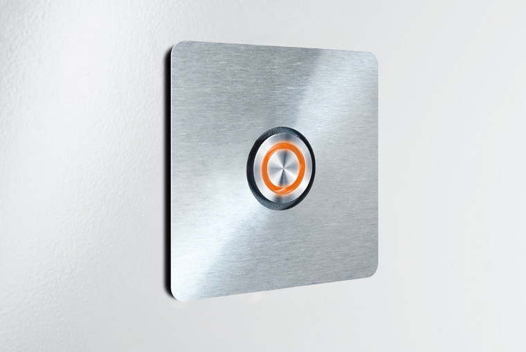 Door Bell Switch with Light (Square)