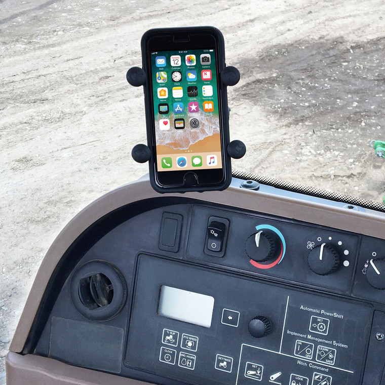 8000 to an 8030 Phone Holder for John Deere Cab