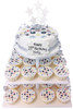 Fashion Pattern Cake Tower