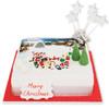 Christmas Snow Play Cake