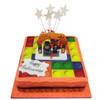 Lego Halloween Cake