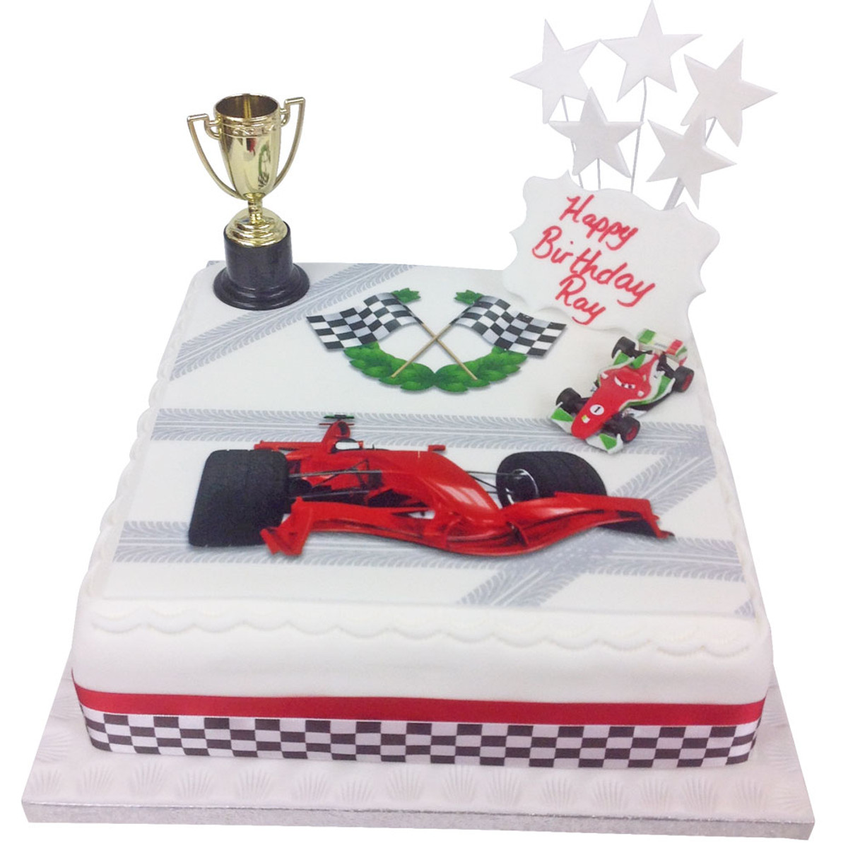 Superb Racing Car Birthday Cake Car Birthday Cakes The Brilliant Bakers Funny Birthday Cards Online Elaedamsfinfo