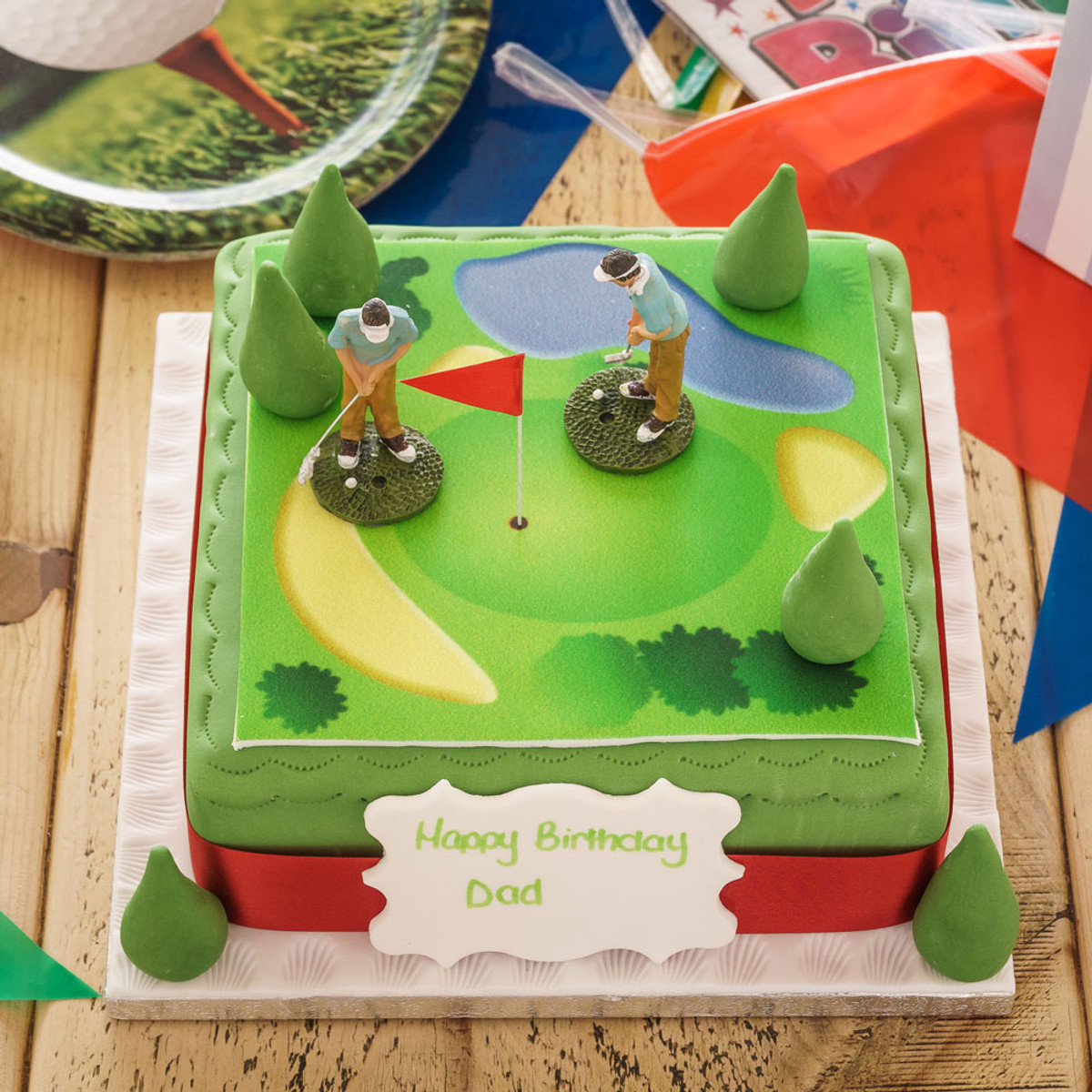 Outstanding Golf Birthday Cake Sporting Birthday Cakes The Brilliant Bakers Birthday Cards Printable Trancafe Filternl