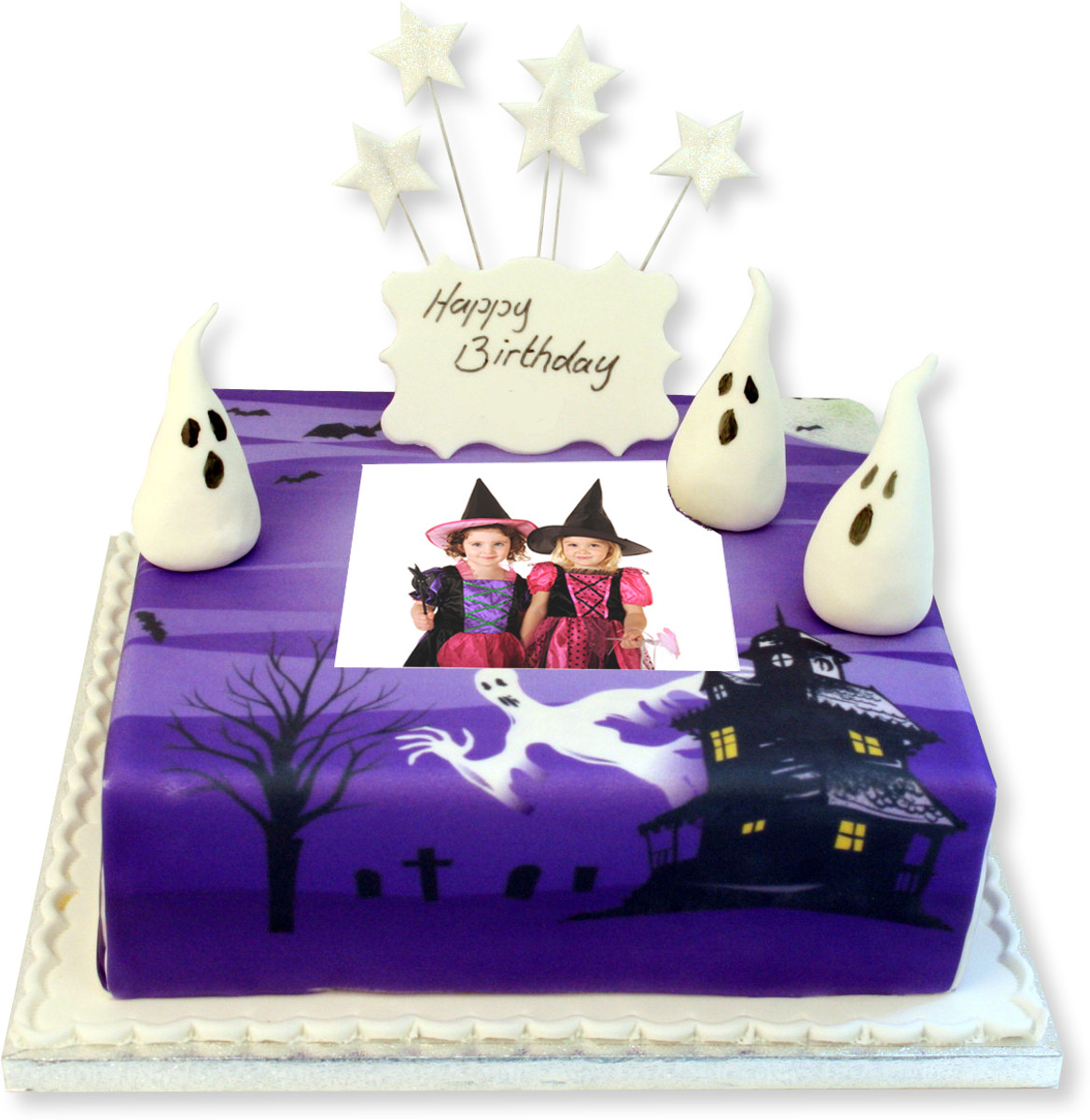 Fabulous Scary Photo Cake Birthday Cakes The Brilliant Bakers Funny Birthday Cards Online Inifofree Goldxyz