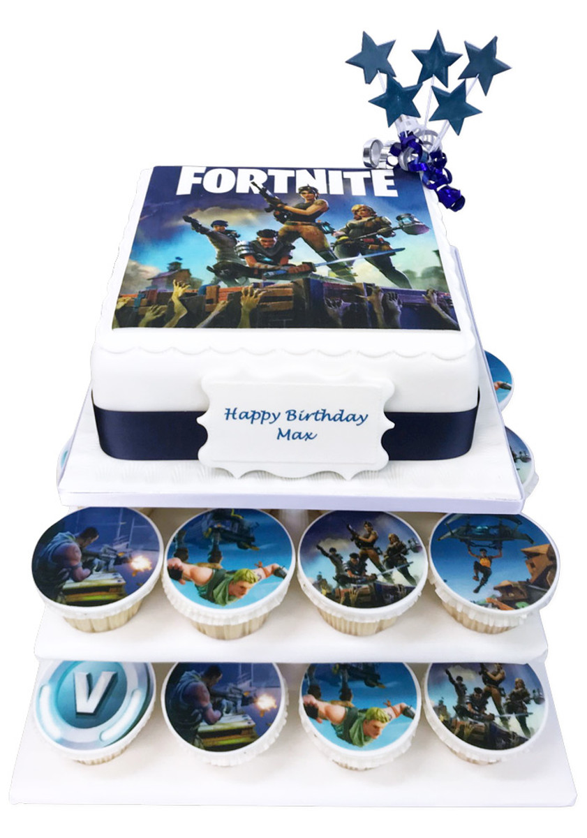 Fortnite Cake Tower Cupcake Towers The Brilliant Bakers