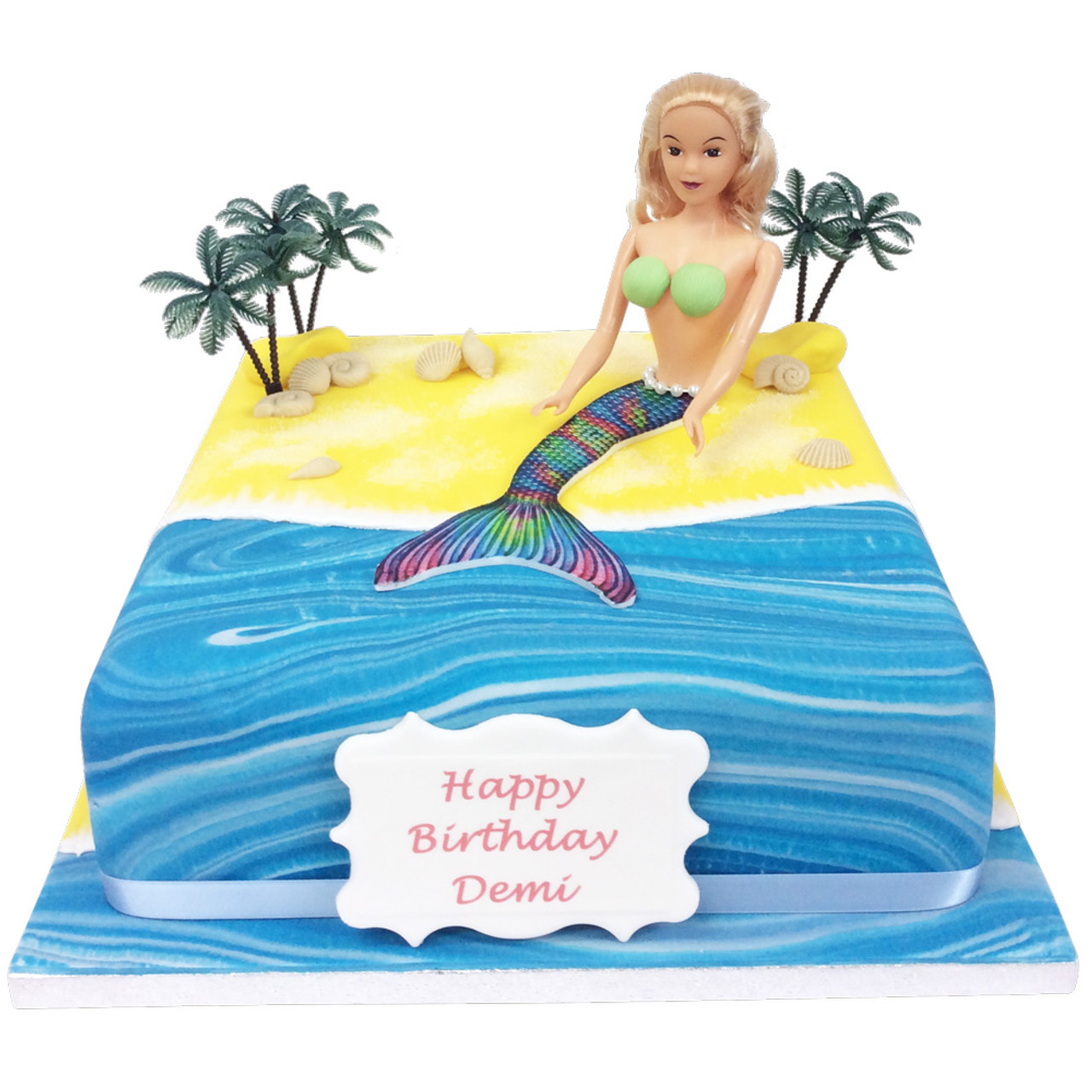 Excellent Mermaid Birthday Cake Girls Birthday Cakes The Brilliant Bakers Funny Birthday Cards Online Fluifree Goldxyz