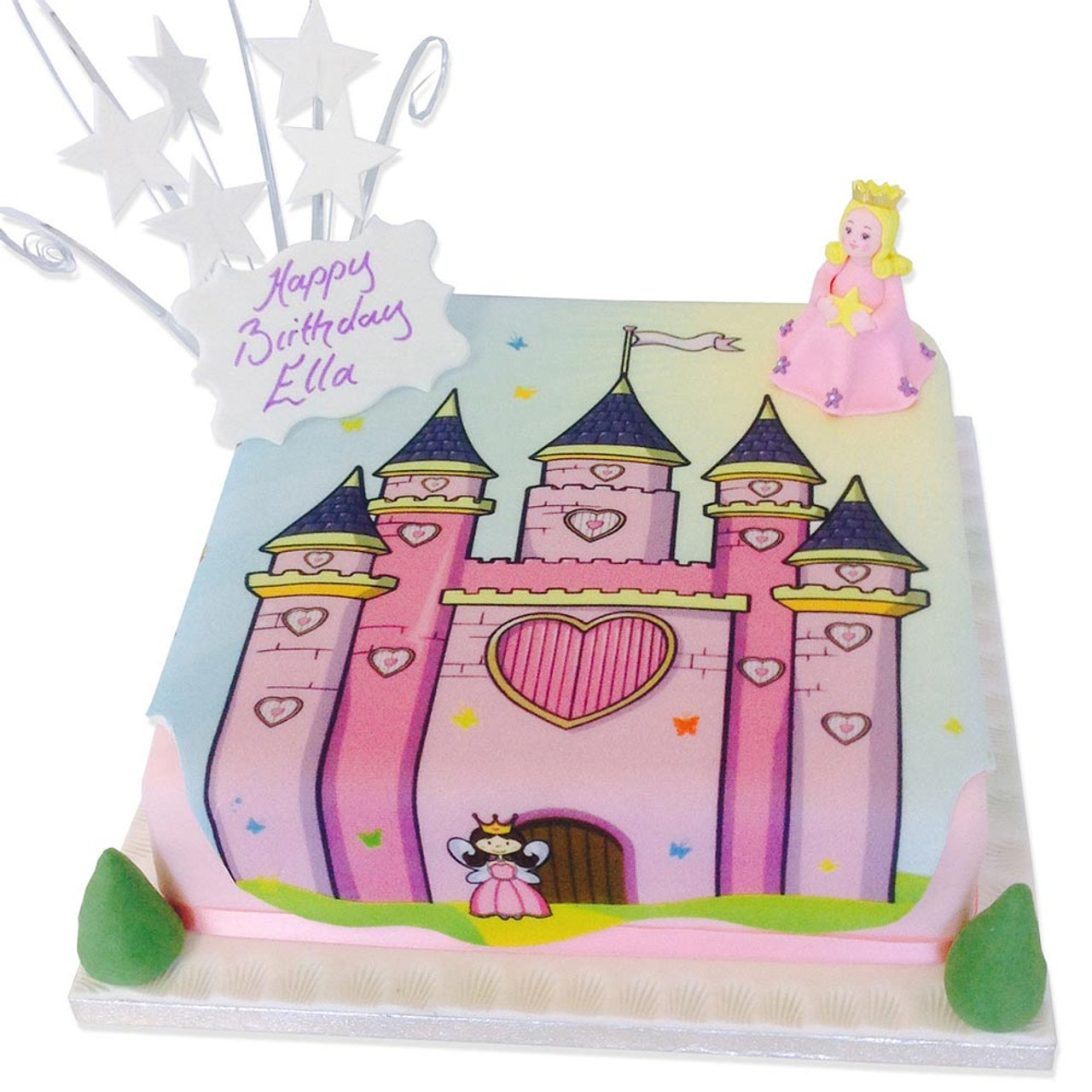 Remarkable Princess Castle Cake Girls Birthday Cakes The Brilliant Bakers Funny Birthday Cards Online Alyptdamsfinfo