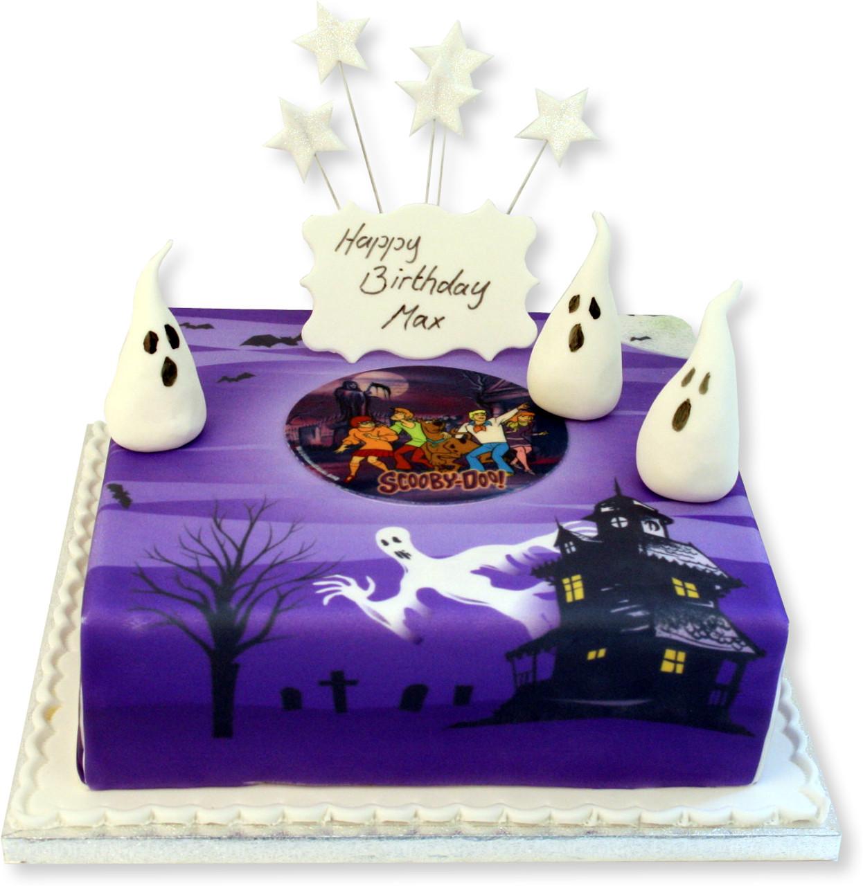 Excellent Scooby Doo Birthday Cake Boys Birthday Cakes The Brilliant Bakers Funny Birthday Cards Online Alyptdamsfinfo