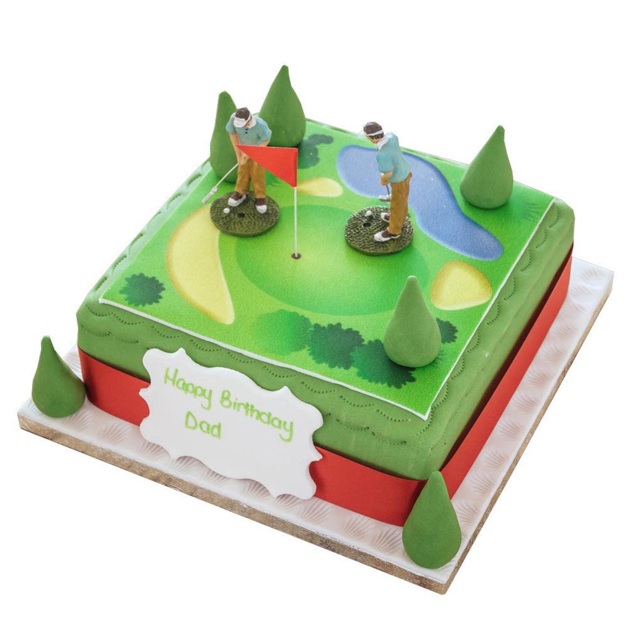 Golf Birthday Cake | Sporting Birthday Cakes | The Brilliant Bakers