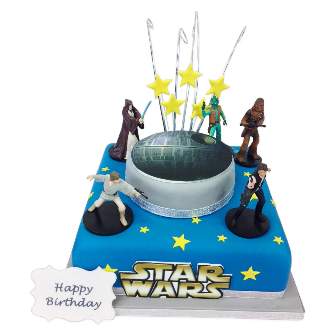 Fantastic Star Wars Cake Luxury Birthday Cakes The Brilliant Bakers Personalised Birthday Cards Paralily Jamesorg