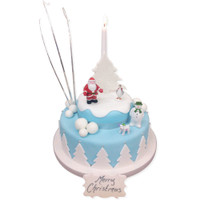 Celebrate with a Christmas Cake