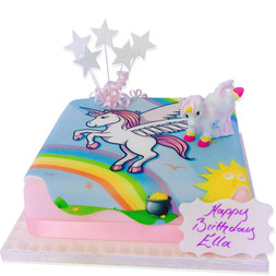 Girls Birthday Cakes Princess Fairy