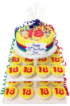 Birthday Cake Age Tower