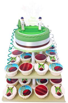 Cricket Cake Tower