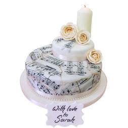 Birthday Song Luxury Cake