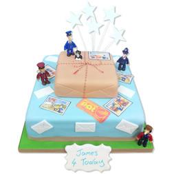 Postman Pat Birthday Cake