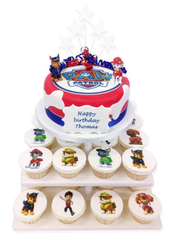 Paw Patrol Cake Tower