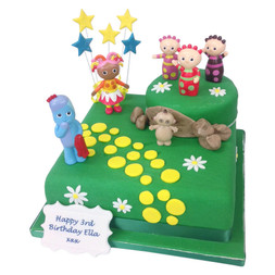 Tremendous Toddlers Birthday Party Cakes Delivered Fresh By Post Personalised Birthday Cards Veneteletsinfo