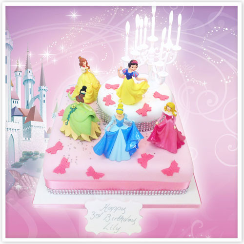 The Continuing Appeal Of Disney Princess Birthday Cakes