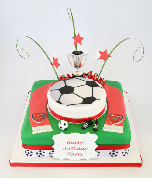 Football Team Birthday Cake