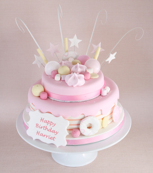 Pink-tastic Cake