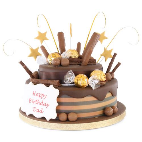 Choc tastic Two~Tier Cake