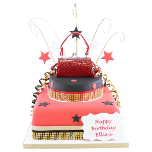 Handbag Two~Tier Cake