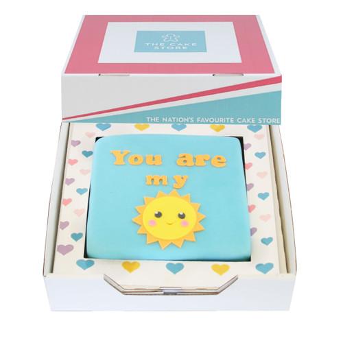 You Are My Sunshine Gift Cake