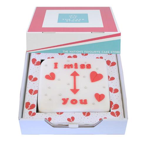 I Miss You Gift Cake