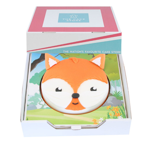 Fox Gift Cake
