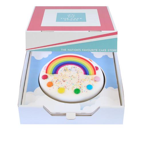 Rainbow Gift Cake