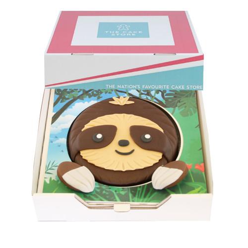 Sloth Gift Cake