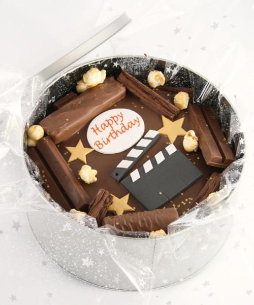 Camera Action Tin Cake