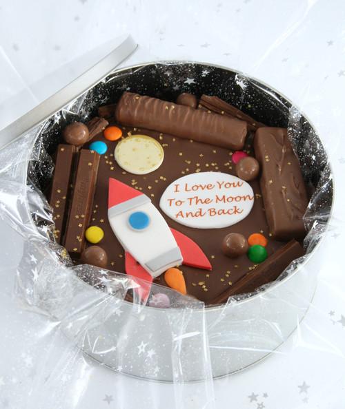 Rocket Man Cake In-a-Tin