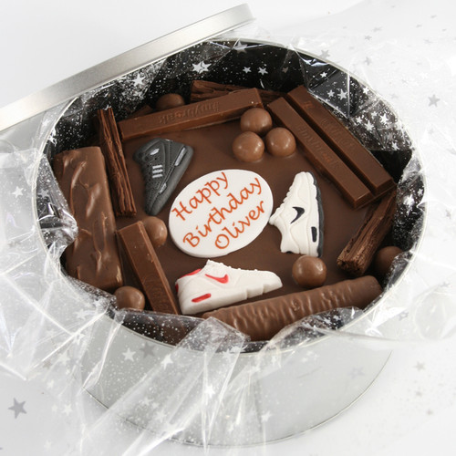 Trainers Cake In-a-Tin