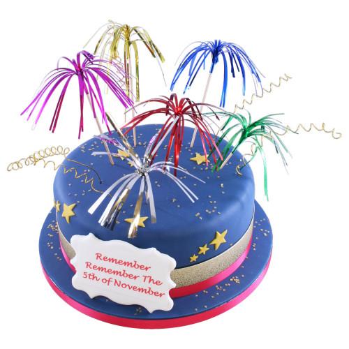 Firework Party Cake