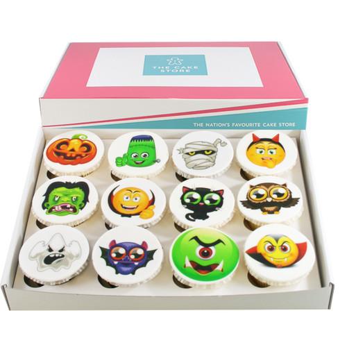 Halloween Creature Cupcakes