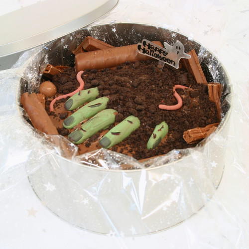 Zombie Dawn Cake In-a-Tin