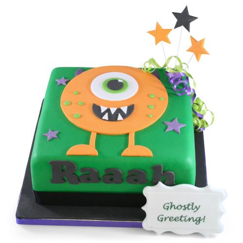 One Eye Creature Cake