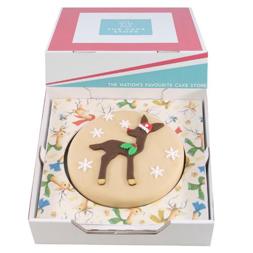 Baby Rudolf Gift Cake
